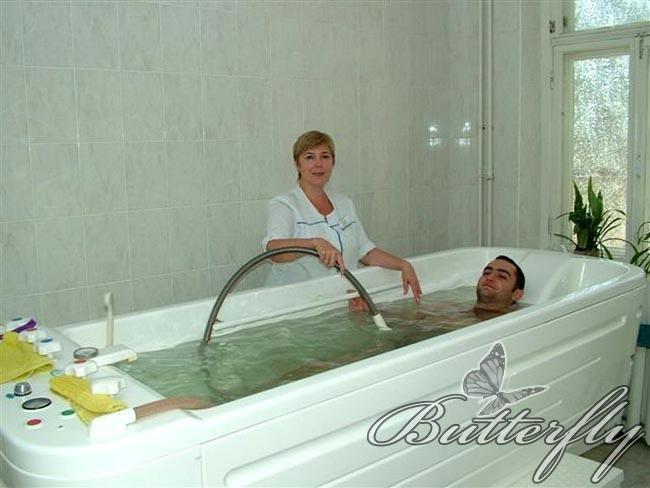 Санатории Кисловодска - Москва - Нарзанные ванны.